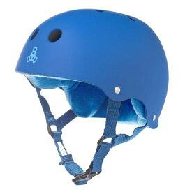ヘルメット スケボー スケートボード 海外モデル 直輸入 1244 【送料無料】Triple Eight Sweatsaver Liner Skateboarding Helmet, Royal Blue Rubber, X-Smallヘルメット スケボー スケートボード 海外モデル 直輸入 1244