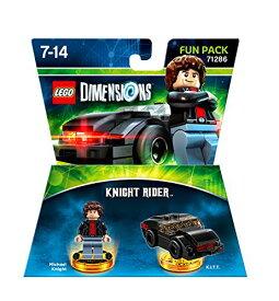 【送料無料】レゴ ディメンションズ 71286 ナイトライダー ファンパック マイケルナイトのミニフィギュア KITT車両 LEGO DIMENSIONS