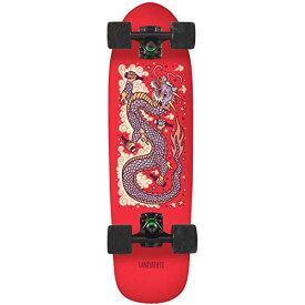"""ランドヤッツ ロングスケートボード スケボー 海外モデル アメリカ直輸入 【送料無料】Landyachtz Dinghy 28"""" Complete Skateboard (28"""" - Red Dragon)ランドヤッツ ロングスケートボード スケボー 海外モデル アメリカ直輸入"""
