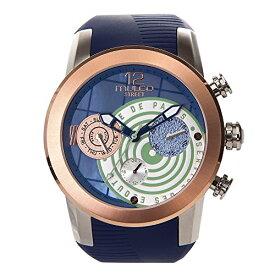 腕時計 マルコ レディース 【送料無料】Mulco Street Paris Quartz Multifunctional Movement Women's Watch | Mother of Pearl Sundial with Rose Gold and Mother of Pearl Accents | 100% Silicone Watch Band | Water Resistant (Bl腕時計 マルコ レディース