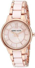アンクライン 腕時計 レディース 【送料無料】Anne Klein Women's AK/3344LPRG Swarovski Crystal Accented Rose Gold-Tone and Light Pink Ceramic Bracelet Watchアンクライン 腕時計 レディース