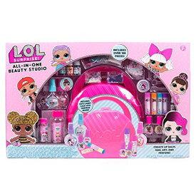 エルオーエルサプライズ 人形 ドール 【送料無料】L.O.L. Surprise! All-in-One Beauty Studio by Horizon Group USA, Explore 3 Craft Activities. Create DIY Lip Balms, Nail Art & perfumes. Stickers, Fragrances, Glittエルオーエルサプライズ 人形 ドール