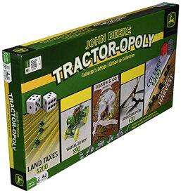 ボードゲーム 英語 アメリカ 海外ゲーム 【送料無料】MasterPieces John Deere Tractor-Opoly Board Gameボードゲーム 英語 アメリカ 海外ゲーム