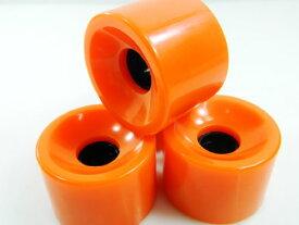 ウィール タイヤ スケボー スケートボード 海外モデル 【送料無料】76mm Blank Longboard Cruiser Wheels (Orange)ウィール タイヤ スケボー スケートボード 海外モデル