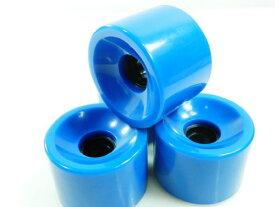 ウィール タイヤ スケボー スケートボード 海外モデル 【送料無料】65mm Pro Longboard Skateboard Wheels Solid Gel Color (Solid Blue)ウィール タイヤ スケボー スケートボード 海外モデル