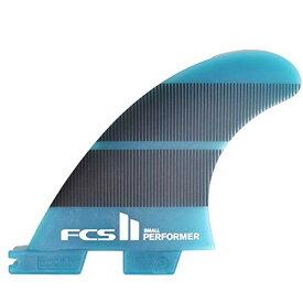 サーフィン フィン マリンスポーツ 【送料無料】FCS II Performer Neo Glass Tri Fin Set - Blue Gradient - Largeサーフィン フィン マリンスポーツ