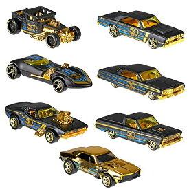 ホットウィール マテル ミニカー ホットウイール 【送料無料】Hot Wheels 50th Anniversary Black and Gold Collection - Bone Shaker, Twin Mill, Rodger Dodger, 1968 Dodge Dart, 1964 Chevy Impala, 1965 Fordホットウィール マテル ミニカー ホットウイール