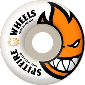ウィール タイヤ スケボー スケートボード 海外モデル 1WSFW0BIGH500WO 【送料無料】Spitfire Bighead Skateboard Wheel, White/Orange, 50mmウィール タイヤ スケボー スケートボード 海外モデル 1WSFW0BIGH500WO