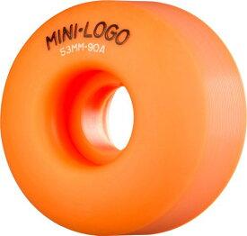 ウィール タイヤ スケボー スケートボード 海外モデル WSBCMLA5390O4 【送料無料】Skate One Mini-Logo C-Cut 53mm 90a Hybrid Wheels, Orangeウィール タイヤ スケボー スケートボード 海外モデル WSBCMLA5390O4