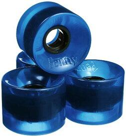 ウィール タイヤ スケボー スケートボード 海外モデル PENWHETRAN 【送料無料】Penny 4-Set Translucent Skateboard Wheels, Blue, 59mmウィール タイヤ スケボー スケートボード 海外モデル PENWHETRAN