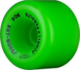 """ウィール タイヤ スケボー スケートボード 海外モデル WSBARAT6090G4 Powell-Peralta """"Rat Bones 60mm 90A Green Skateboard Wheels (Set of 4)ウィール タイヤ スケボー スケートボード 海外モデル WSBARAT6090G4"""