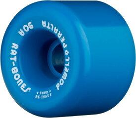 """ウィール タイヤ スケボー スケートボード 海外モデル WSBARAT6090B4 Powell-Peralta """"Rat Bones 60mm 90A Blue Skateboard Wheels (Set of 4)ウィール タイヤ スケボー スケートボード 海外モデル WSBARAT6090B4"""