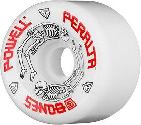 ウィール タイヤ スケボー スケートボード 海外モデル WSBAPPG26497W4 Powell-Peralta G-Bones 97A Skateboard Wheels (White, 64mm)ウィール タイヤ スケボー スケートボード 海外モデル WSBAPPG26497W4