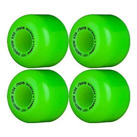ウィール タイヤ スケボー スケートボード 海外モデル Powell Peralta Mini Cube Green Skateboard Wheels - 64mm 95a (Set of 4)ウィール タイヤ スケボー スケートボード 海外モデル
