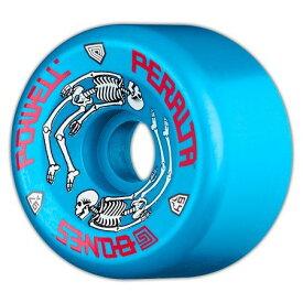 ウィール タイヤ スケボー スケートボード 海外モデル 【送料無料】Powell-Peralta G-Bones 64mm 97a Urethane Skateboard Wheels (Blue)ウィール タイヤ スケボー スケートボード 海外モデル