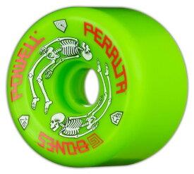 ウィール タイヤ スケボー スケートボード 海外モデル Powell-Peralta G-Bones 64mm 97a Urethane Skateboard Wheels (Green)ウィール タイヤ スケボー スケートボード 海外モデル