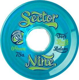 ウィール タイヤ スケボー スケートボード 海外モデル 69NB784-Blue 【送料無料】Sector 9 Top Self Nine Balls Skateboard Wheel, Blue, 69mm 78Aウィール タイヤ スケボー スケートボード 海外モデル 69NB784-Blue