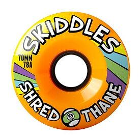 ウィール タイヤ スケボー スケートボード 海外モデル 70ST784 【送料無料】Sector 9 Skiddles 70Mm 78A Set Of 4 Orangeウィール タイヤ スケボー スケートボード 海外モデル 70ST784