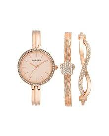 アンクライン 腕時計 レディース 【送料無料】Anne Klein Quartz Rose Dial Ladies Watch and Bracelet Set AK/3398RGSTアンクライン 腕時計 レディース