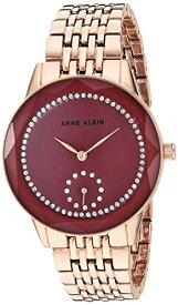 腕時計 アンクライン レディース 【送料無料】Anne Klein Women's Swarovski Crystal Accented Rose Gold-Tone Bracelet Watch, AK/3506MVRG腕時計 アンクライン レディース