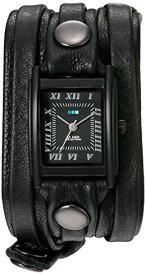 ラメールコレクションズ 腕時計 レディース LMLW7011 La Mer Collections Women's Quartz Stainless Steel and Leather Watch, Color:Black (Model: LMLW7011)ラメールコレクションズ 腕時計 レディース LMLW7011