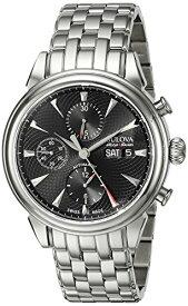 ブローバ 腕時計 メンズ 63C113 Bulova Men's 'Gemini' Swiss Automatic Stainless Steel Casual Watch (Model: 63C113)ブローバ 腕時計 メンズ 63C113