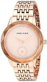 腕時計 アンクライン レディース 【送料無料】Anne Klein Women's Swarovski Crystal Accented Rose Gold-Tone Bracelet Watch, AK/3506RGRG腕時計 アンクライン レディース