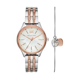 腕時計 マイケルコース レディース マイケル・コース アメリカ直輸入 【送料無料】Michael Kors Women's Lexington Quartz Watch with Stainless Steel Strap, Two Tone, 16 (Model: MK4494)腕時計 マイケルコース レディース マイケル・コース アメリカ直輸入