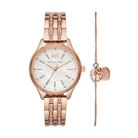 腕時計 マイケルコース レディース マイケル・コース アメリカ直輸入 【送料無料】Michael Kors Women's Lexington Quartz Watch with Stainless Steel Strap, Rose Gold, 16 (Model: MK4493)腕時計 マイケルコース レディース マイケル・コース アメリカ直輸入