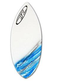 """サーフィン スキムボード マリンスポーツ 【送料無料】Wave Zone Glide - 48"""" Fiberglass Skimboard for riders up to 160 lbs - Blueサーフィン スキムボード マリンスポーツ"""
