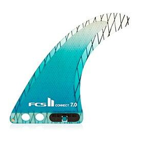 サーフィン フィン マリンスポーツ 【送料無料】FCS Ii Connect Pcc Fin 7 inch Blueサーフィン フィン マリンスポーツ