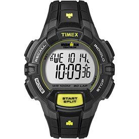 タイメックス 腕時計 メンズ T5K790 Timex Men's T5K790 Ironman Rugged 30 Full-Size Black/Lime Resin Strap Watchタイメックス 腕時計 メンズ T5K790