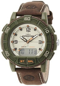 タイメックス 腕時計 メンズ T49969SU Timex T49969 Mens Expedition Shock Combo Brown Watchタイメックス 腕時計 メンズ T49969SU
