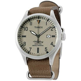 腕時計 タイメックス メンズ 121612 【送料無料】Timex The Waterbury Brown Dial Leather Strap Men's Watch TW2P64600腕時計 タイメックス メンズ 121612