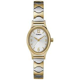 腕時計 タイメックス レディース T26301 【送料無料】Timex Women's T26301 Kendall Circle Two-Tone Stainless Steel Expansion Band Watch腕時計 タイメックス レディース T26301