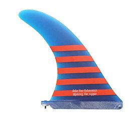 """サーフィン フィン マリンスポーツ 【送料無料】PACIFIC VIBRATIONS John Hohenstein Longboard Surfboard fin 11"""" @johhny_The_Ripper Color Blueサーフィン フィン マリンスポーツ"""