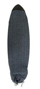 """サーフィン ボードケース バックパック マリンスポーツ Komunity Fish Board Sock - Black/Grey, 6'3""""サーフィン ボードケース バックパック マリンスポーツ"""