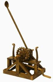 エレンコ ロボット 電子工作 知育玩具 パズル EDU-61009 Catapult - Leonardo Da Vinci Kit # EDU-61009エレンコ ロボット 電子工作 知育玩具 パズル EDU-61009