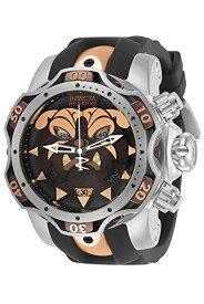 腕時計 インヴィクタ インビクタ メンズ 【送料無料】Invicta 30348 Men's Reserve Venom Black Silicone Strap Watch腕時計 インヴィクタ インビクタ メンズ
