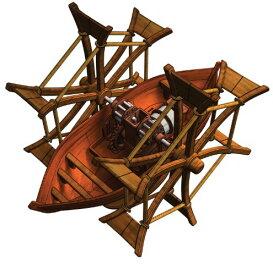 エレンコ ロボット 電子工作 知育玩具 パズル EDU-61007 Edu-Toys Leonardo Da Vinci Paddle Boatエレンコ ロボット 電子工作 知育玩具 パズル EDU-61007