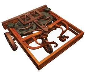 エレンコ ロボット 電子工作 知育玩具 パズル EDU-61004 LEONARDO DA VINCI Self-Propelled Cart by Elencoエレンコ ロボット 電子工作 知育玩具 パズル EDU-61004