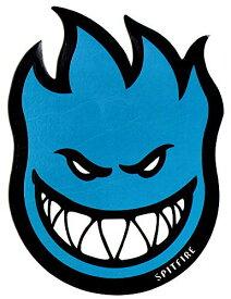 ウィール タイヤ スケボー スケートボード 海外モデル 【送料無料】Spitfire Wheels Blue Fireball Skateboard Sticker - Skate Board Flame fire Skate Skateboarding sk8ウィール タイヤ スケボー スケートボード 海外モデル