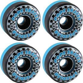 ウィール タイヤ スケボー スケートボード 海外モデル 【送料無料】Speedlab Wheels Speedsters Black/Blue Skateboard Wheels - 62mm 101a (Set of 4)ウィール タイヤ スケボー スケートボード 海外モデル