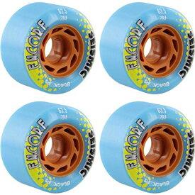 ウィール タイヤ スケボー スケートボード 海外モデル 【送料無料】Seismic Skate Systems Encore Blue Black OPS Longboard Skateboard Wheels - 63.5mm 79a (Set of 4)ウィール タイヤ スケボー スケートボード 海外モデル