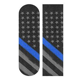 デッキテープ グリップテープ スケボー スケートボード 海外モデル 【送料無料】Decopik Thin Blue Line Flag Tactical Printed Skateboard Grip Tape Sheet Longboard Griptapeデッキテープ グリップテープ スケボー スケートボード 海外モデル