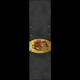 """デッキテープ グリップテープ スケボー スケートボード 海外モデル 【送料無料】Powell Peralta Skateboard Griptape Oval Dragon V2 9"""" x 33"""" Grip Sheetデッキテープ グリップテープ スケボー スケートボード 海外モデル"""