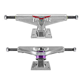 """トラック スケボー スケートボード 海外モデル 直輸入 【送料無料】Venture Skateboard Trucks Thrasher Colab 5.2 High Polished Silver 8.0"""" Axle, Pairトラック スケボー スケートボード 海外モデル 直輸入"""