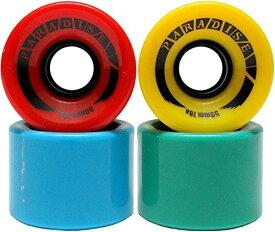 ウィール タイヤ スケボー スケートボード 海外モデル 【送料無料】Paradise 59mm 78a Multi Color Skateboard Cruiser Wheels RED Blue Green Yellowウィール タイヤ スケボー スケートボード 海外モデル
