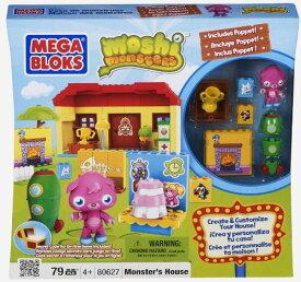 メガブロック メガコンストラックス 組み立て 知育玩具 【送料無料】Moshi Monsters Monster Houseメガブロック メガコンストラックス 組み立て 知育玩具