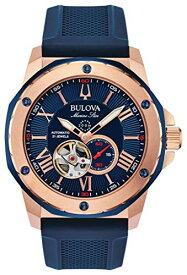 腕時計 ブローバ メンズ 【送料無料】EXPRESS!!SHIPPED WITHIN MINUTES!! Bulova Mens Analogue Automatic Watch with Silicone Strap 98A227腕時計 ブローバ メンズ